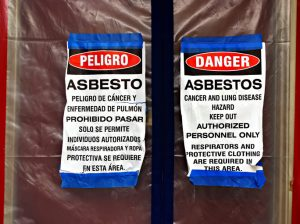 Why is it important to minimize your exposure to asbestos?